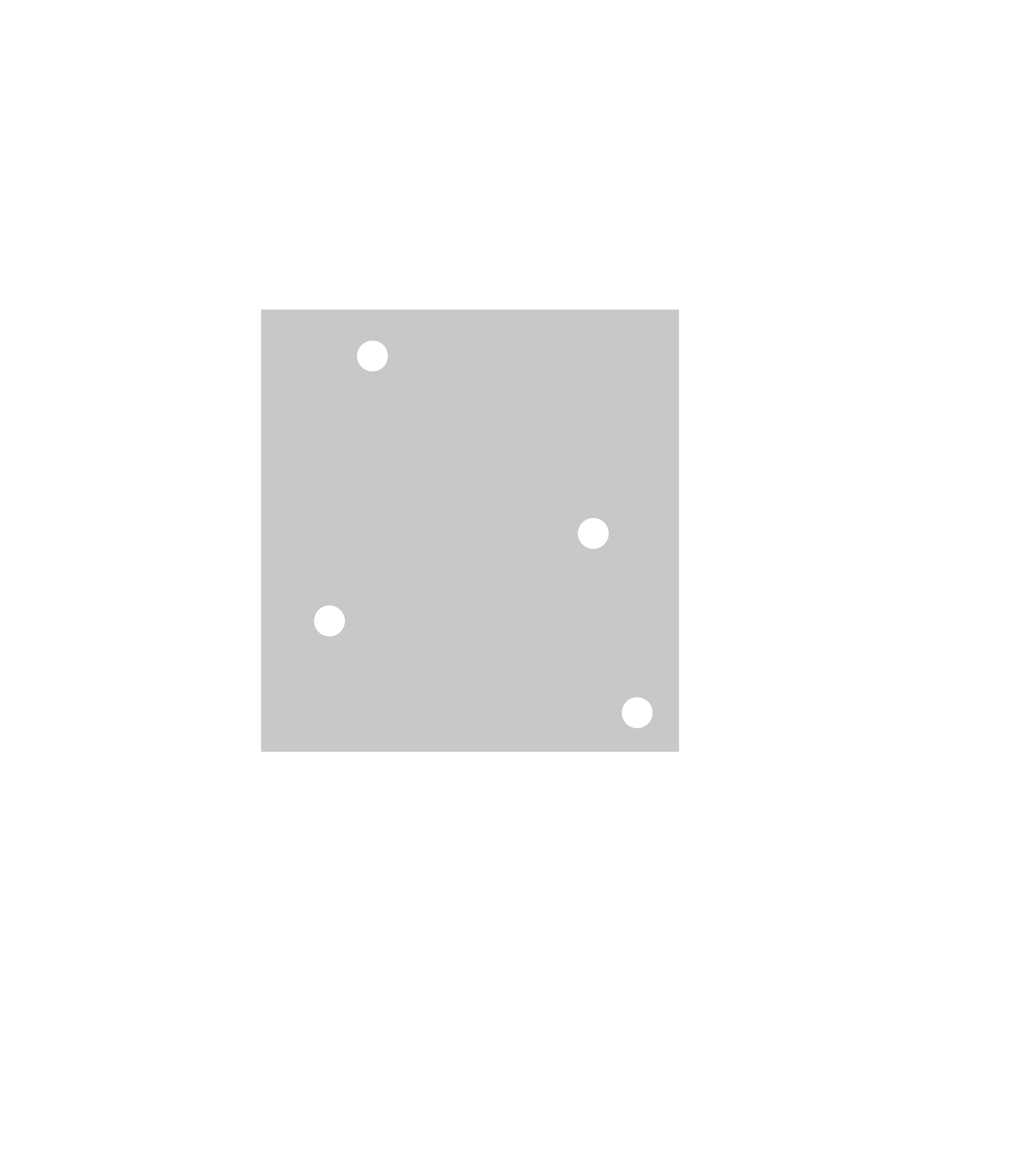 Figure 1: Discrepancy of a box is the difference between the expected and the actual number of points inside.