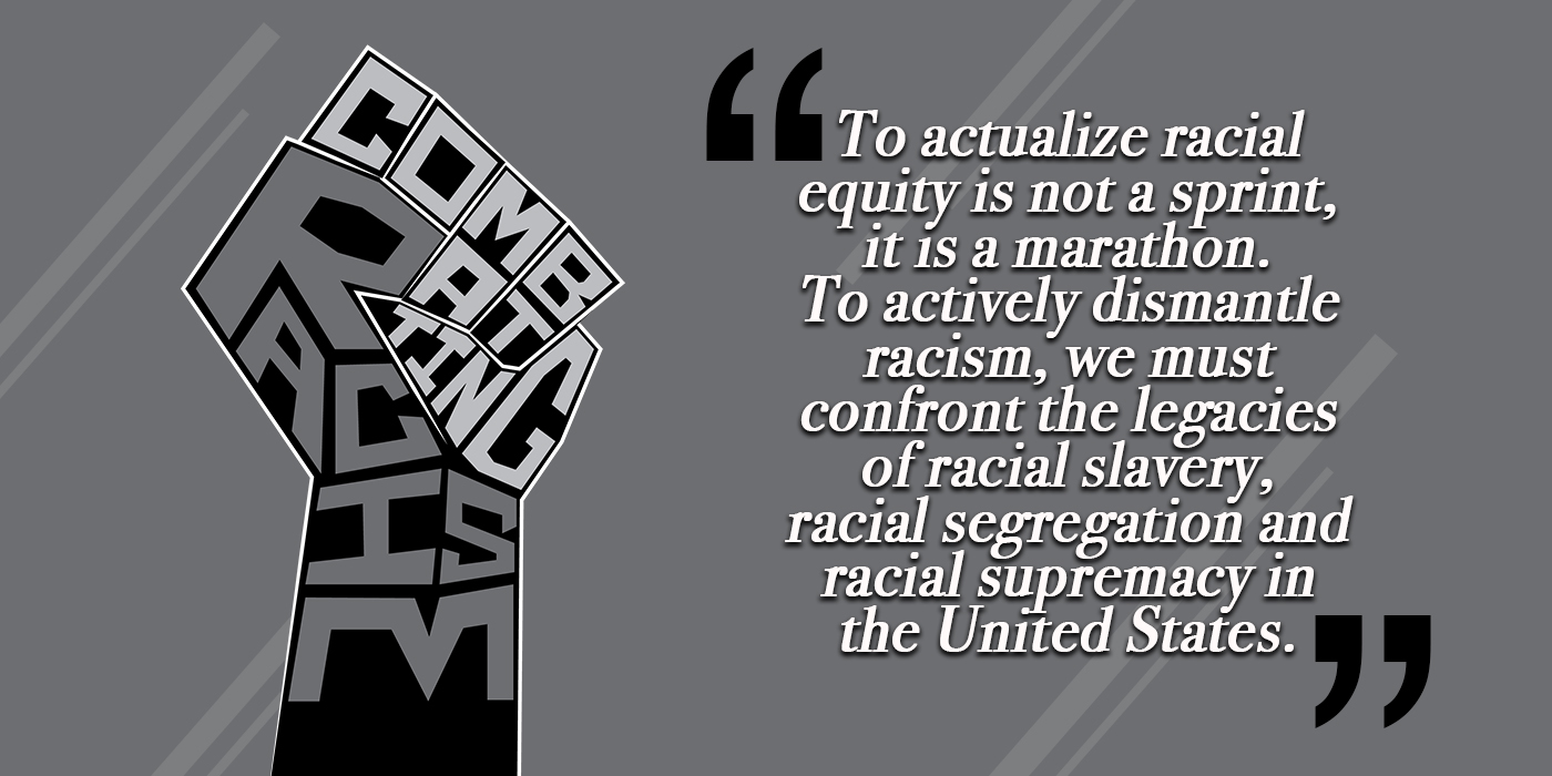 Combatting Racism title