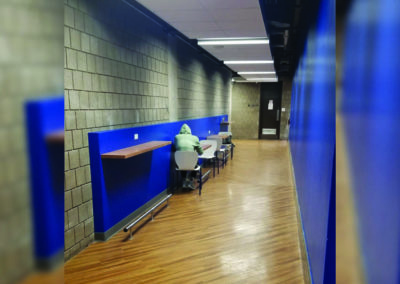 Wean Hall 5 corridor